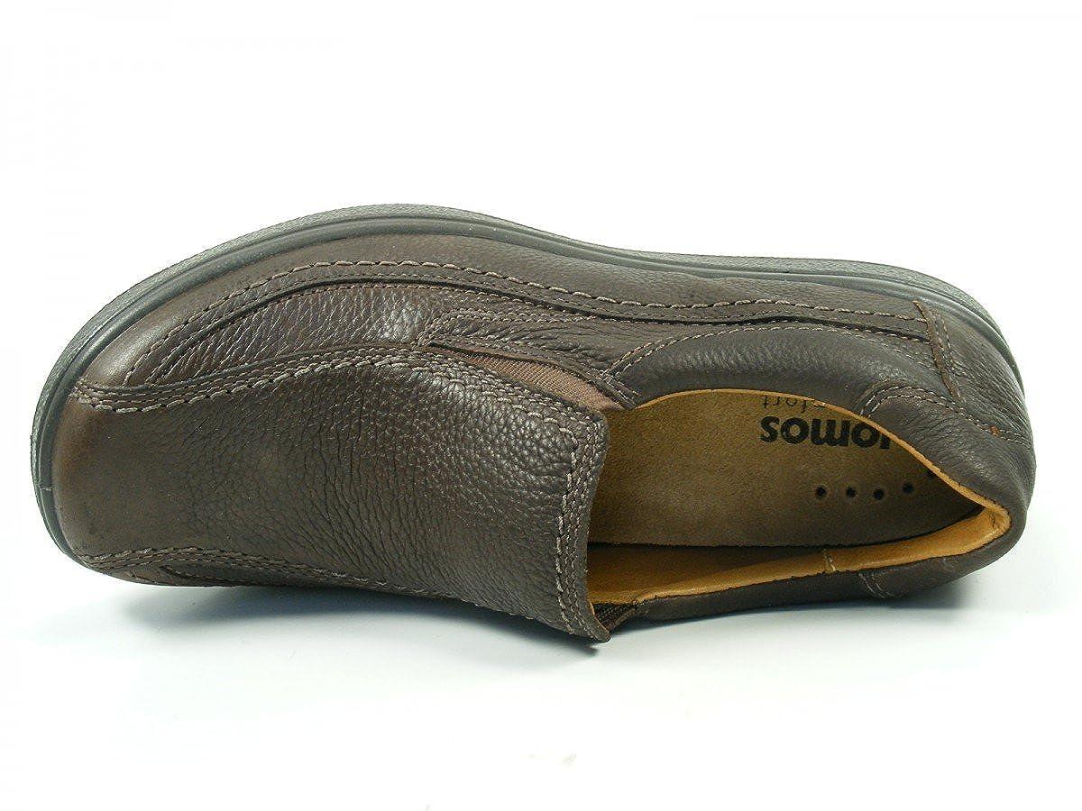 Jomos Schuhe Herren 420413 Halbschuhe Slipper Weite K Urbanic 420413 Herren 370 Braun e8c627