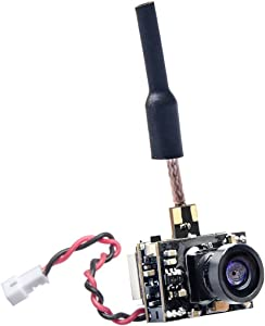 GOQOTOMO GD02 200mW 5.8GHz 40CH FPV Video Transmitter with Dipole Brass Antenna Ultra Micro AIO NTSC 600TVL Camera Combo for FPV Indoor Racing