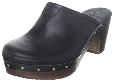 Women's Abbie UGG Clogs, BLACK, Size 5 B(M) US