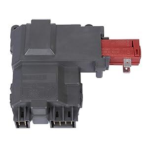 Li-SUN 131763202 Door Lock Switch for Frigidaire & Gibson & Kenmore Washers (P/N: 1312694 1531974 131269400 131763200 131763245 131763255 131763256 AH2367737 AP6285657 EA2367737 PA66-GF25 PS2367737)