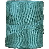 Cofan 08101068 Hilo de rafia, Verde, 750 g