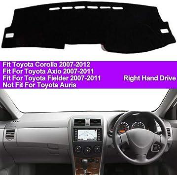 For Toyota Corolla 2014-2018 Non-Slip Dashboard Dash Mat Cover Black Carpet Pad