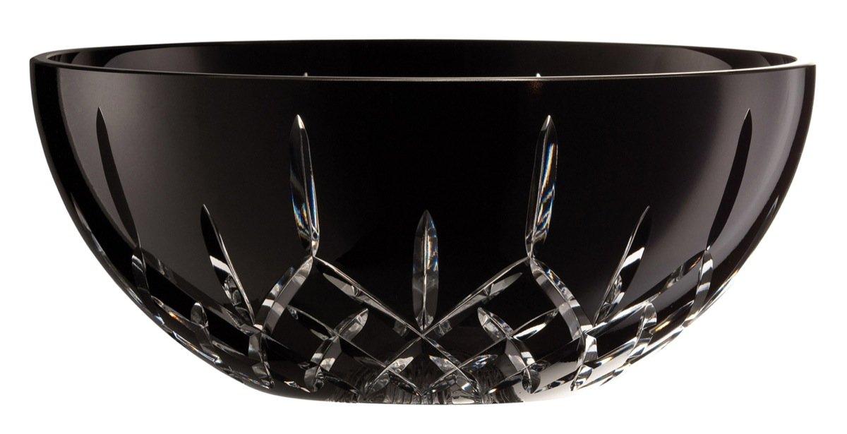 Belleek Pottery NL13004 Noir Longford Bowl, 11-Inch, Black, Set of 1