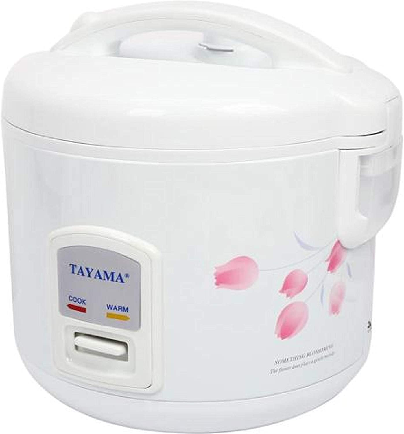 Tayama Automatic Rice Cooker & Food Steamer 8 Cup, White, TRC-08R, TRC-08R, TRC-08R, TRC-08R