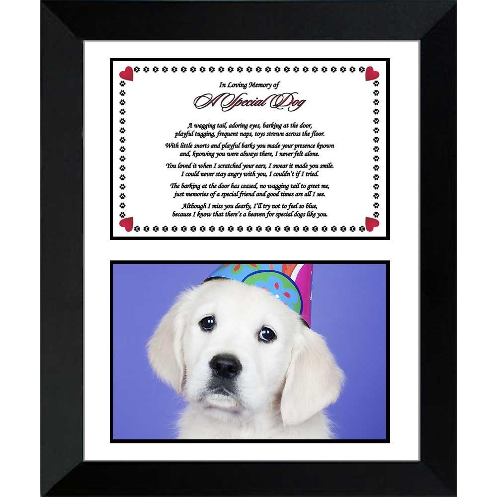 UEETEK Photo Frame Dog Puppy Cat Photo Picture Frame Paw Print Pet ...