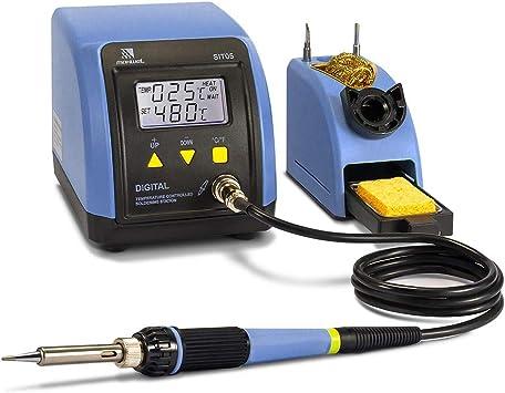 60W Rework Soldering Iron Station Set Adjustable Temperature SMD Digital Solder