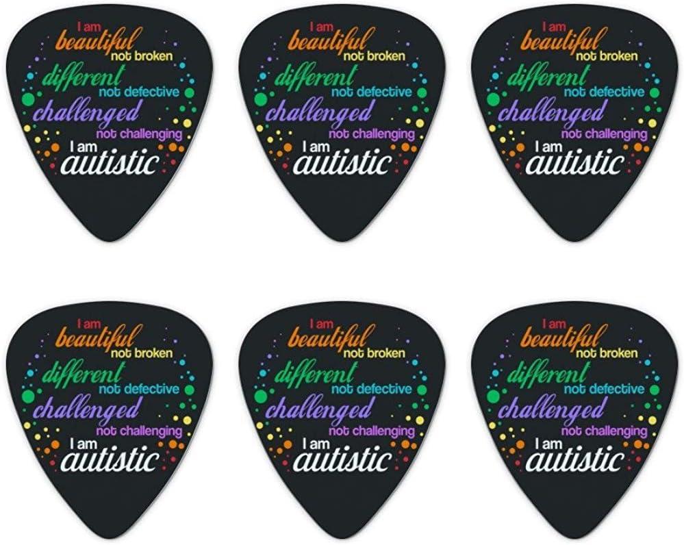 Beautiful Not Broken I Am Autism Autism Novedad Guitar Picks ...
