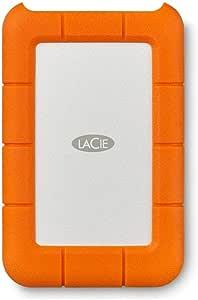 LaCie Rugged Mini USB 3.0 / USB 2.0 2TB Portable Hard Drive LAC9000298