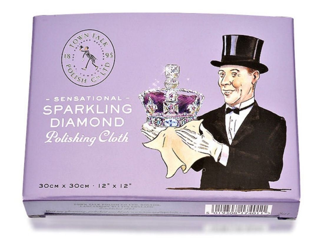 Town Talk Sensational Sparkling Diamond Polishing Cloth - 12' x 12'