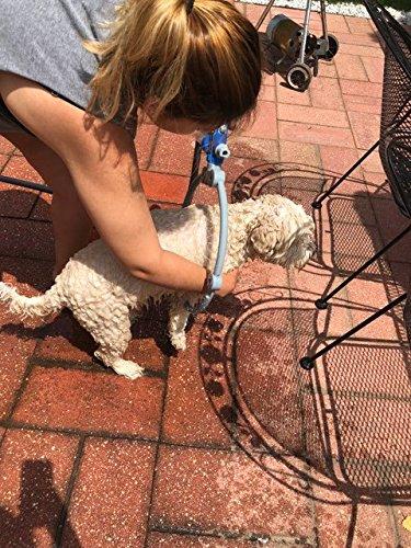Pets First Dog Shower Woof Washer 360 Degree Adjustable Dog Cleaner