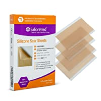 EalionMed Silicone Scar Sheets, Scar Away, Scar Removal Treatment for Hypertrophic...