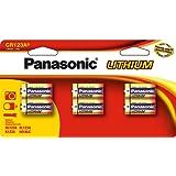 Panasonic Pile Photo Lithium CR123A spécial-Lot de 6