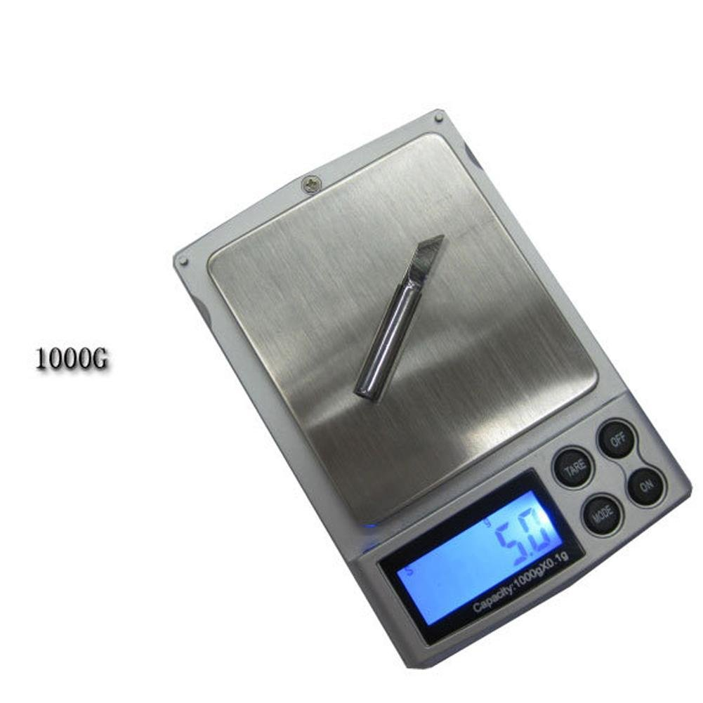 Amazon.com: HighPlus Gram Scale 1000g/0.1g Digital Scale Mini Pocket Jewelry Scale: Kitchen & Dining