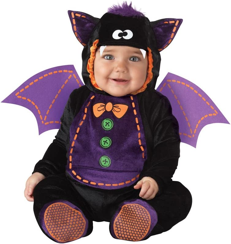 Generique Disfraz de murciélago para bebé - Clásico 0-6 Meses (50 ...