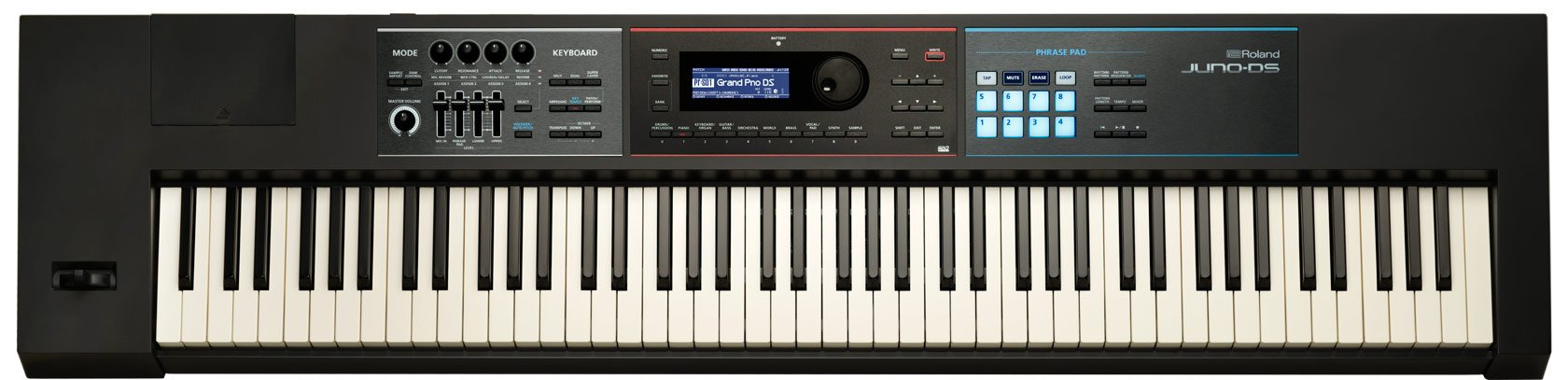Roland Lightweight, 88-note Weighted-action Keyboard with Pro Sounds (JUNO-DS88) by Roland