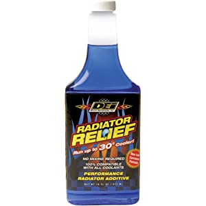 DEI 040200 Radiator Relief Coolant Additive for All Water Cooled Engines, 16 oz.
