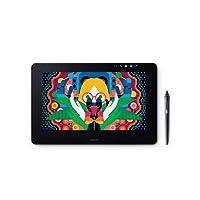 "Wacom DTH1320K0 Cintiq Pro - visualización para bolígrafo Creativo de 13 Pulgadas, visualización HD LCD, Color Gris Oscuro, 13"" w Link Plus (New)"