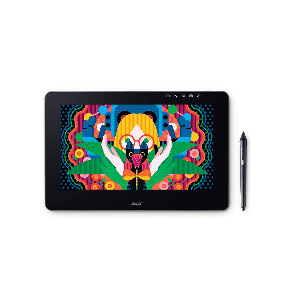 Wacom DTH1320AK0 Cintiq Pro 13'' Creative Pen Display with Link Plus, HD LCD Graphics Monitor, Dark Gray