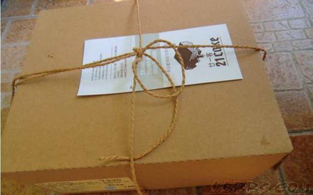 100/m de long pour le bricolage l/'artisanat la d/écoration l/'emballage de cadeaux 1mm x 100meters Corde solide en jute naturel entre 1 et 6/mm de diam/ètre