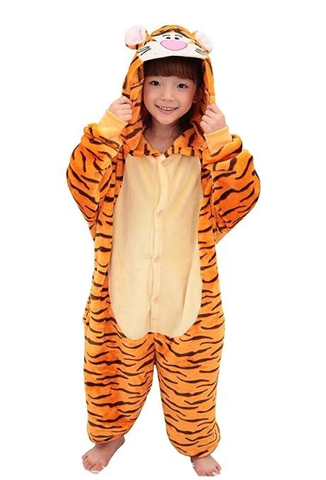 amazon com tonwhar children s onesie pajamas halloween costumes