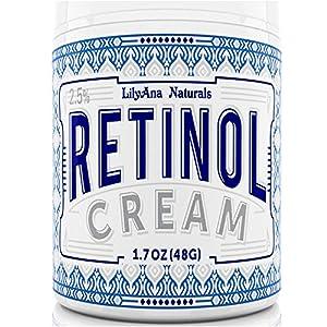 LilyAna Naturals Retinol Cream Moisturizer 1.7 Oz by Lilyana Naturals