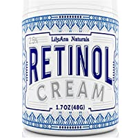 LilyAna Naturals Crema hidratante con retinol, 1.7 oz