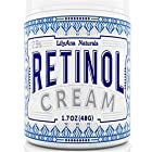Retinol Cream Moisturizer for Face and Eyes, Use Day and Night -
