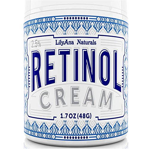 LilyAna Naturals Retinol Cream Moisturizer 1.7 Oz (Revitol Men Hair Removal Cream)