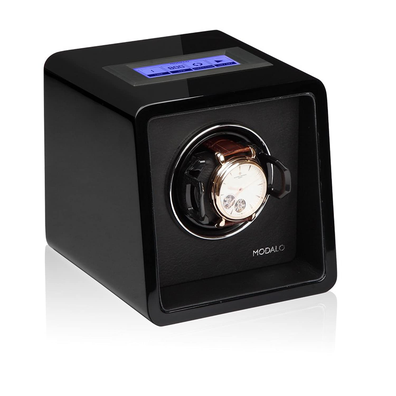 Modalo Saturn MV3 Tresor Uhrenbeweger fÜr 1 Automatikuhre in schwarz 1701113