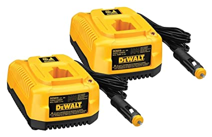 DEWALT 2 Pack DC9319 7.2-to-18V 1-Hr Vehicle Charger Bulk Packed # 649174-00-2pk