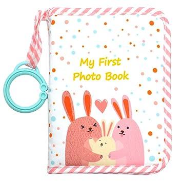 Urban Kiddy/™ Babys My First Family Album Soft Photo Cloth Book Gift Set for Newborn Toddler /& Kids Unicorn