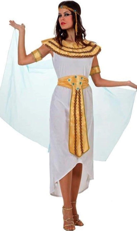 ANGEL TOMAS, SA Disfraz de Egipcia Faraona para Mujer: Amazon.es ...