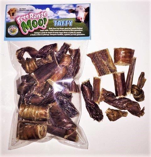 Weasand Free Range Moo Taffy Stick Bites 8 oz Bag