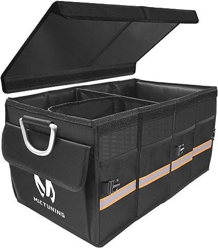 Amazon.es: MICTUNING Caja de Coche para Almacenamiento de Carga ...