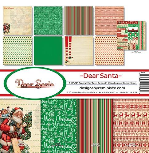 (Reminisce Dear Santa Collection Kit)