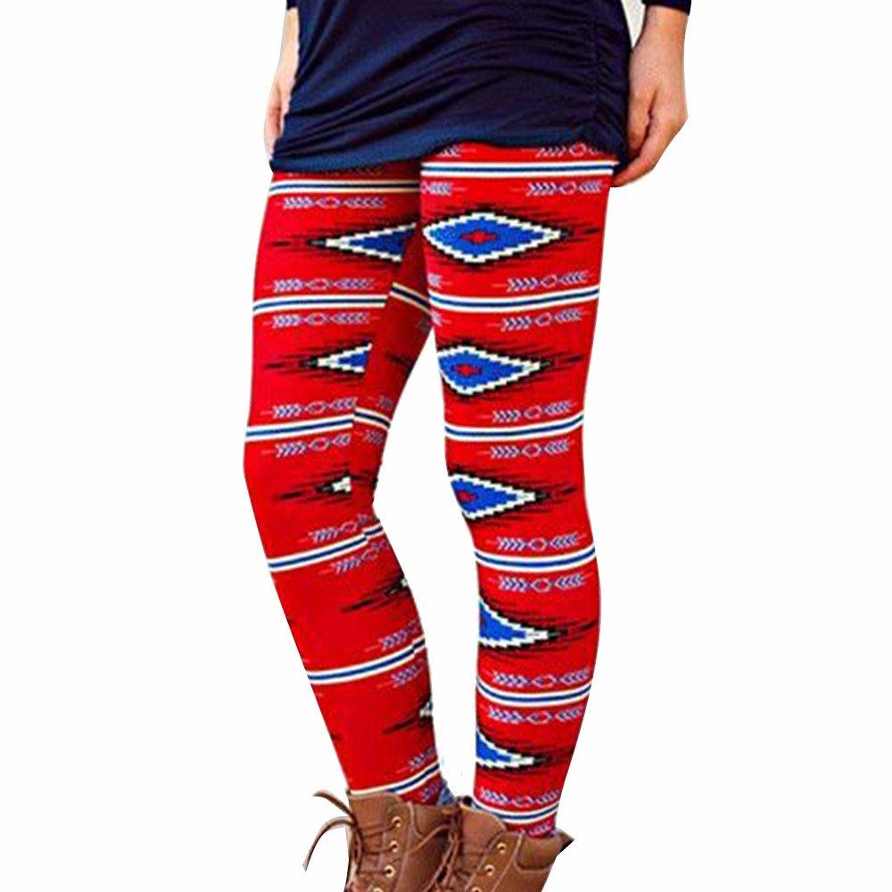 wlgreatsp Fashion Printed Elásticos Leggings Mujer Yoga ...