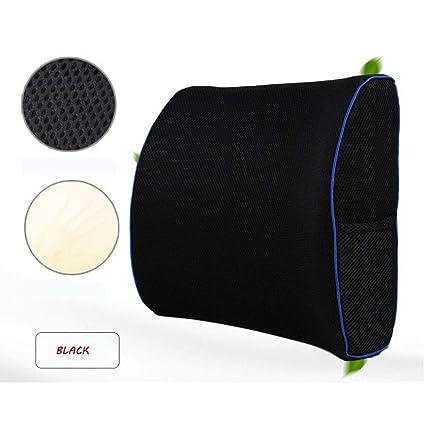 Amazon.com: Cojín de apoyo lumbar de espuma de memoria ...