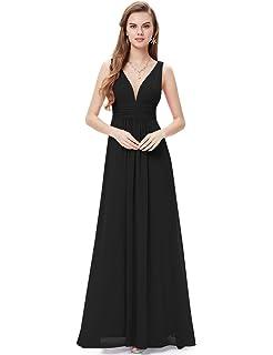11d1b80a05e5cf Kate Kasin Women Sequin Bridesmaid Dress Sleeveless Maxi Evening ...