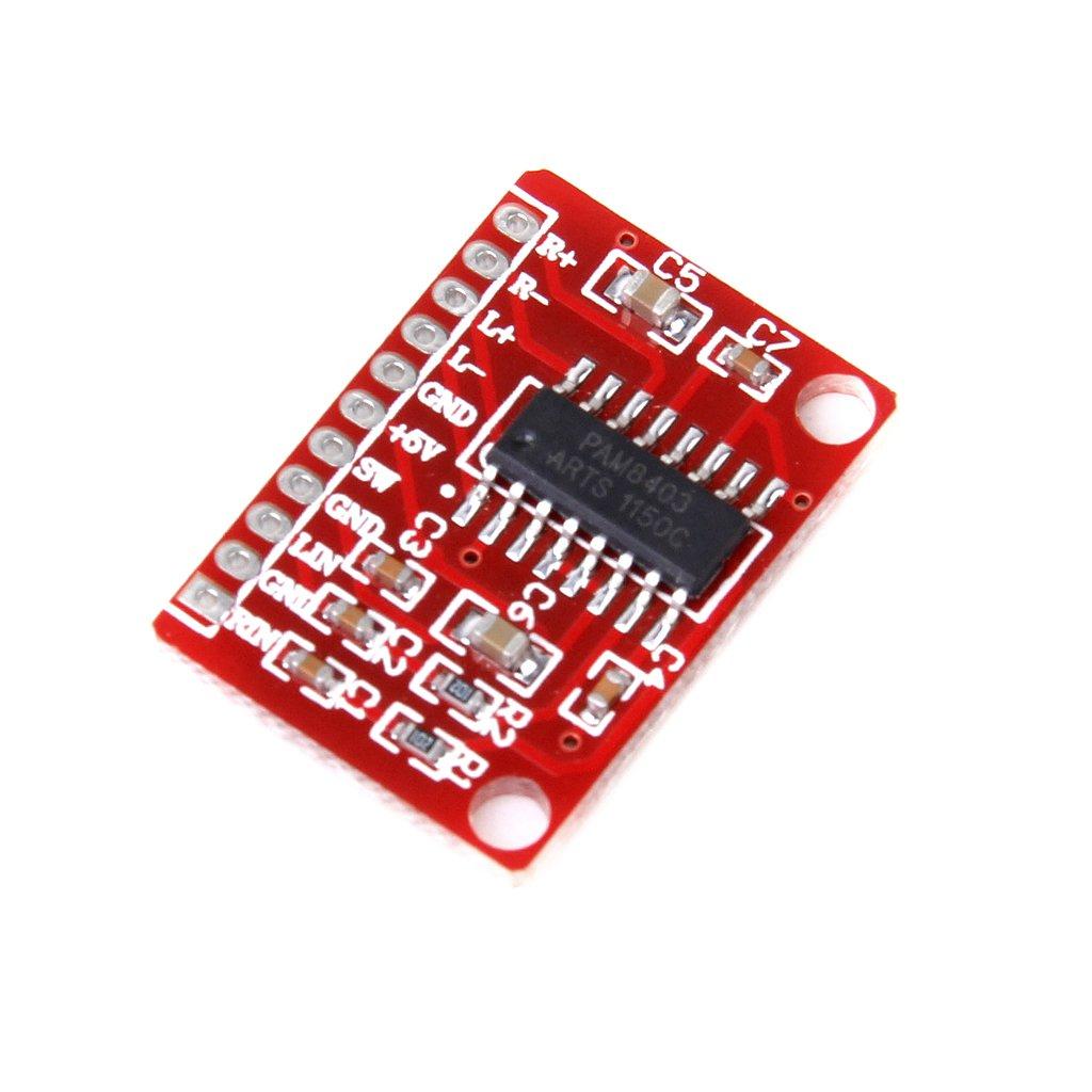 1pc 2 Channel 3W PAM8403 Audio Amplificador Junta 5V de corriente USB Generic STK0114009340