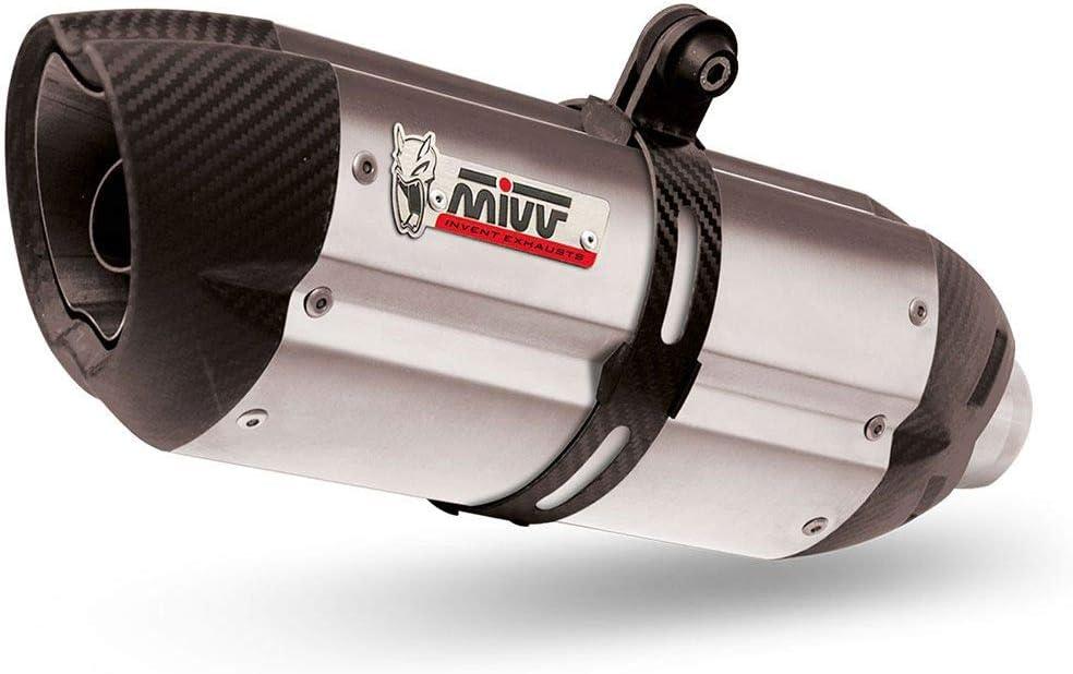 Desagüe Completo 1 x 1 Mivv Sport Sonido INOX-Carbono GSX-R 125 ...