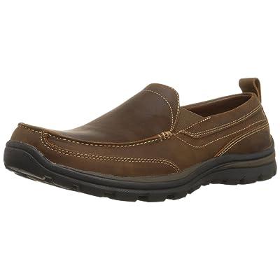 Skechers Men's Relaxed Fit Memory Foam Superior Gains Slip-On | Loafers & Slip-Ons