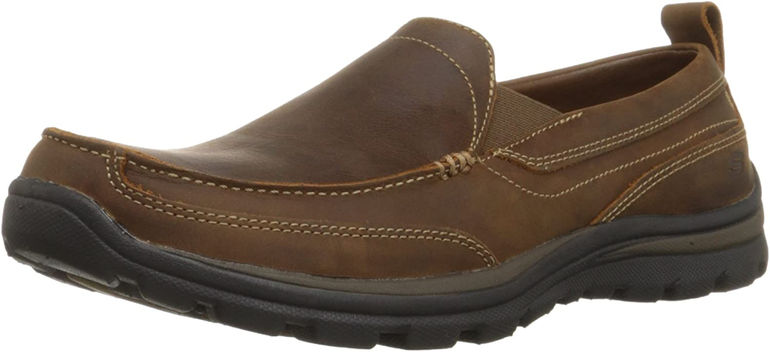 Amazon.com | Skechers Men\u0027s Relaxed Fit Memory Foam Superior ...