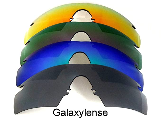 999b71d99d Image Unavailable. Image not available for. Color  Galaxy Replacement Lenses  for Oakley M Frame 2.0 Strike Black Blue Purple Red ...
