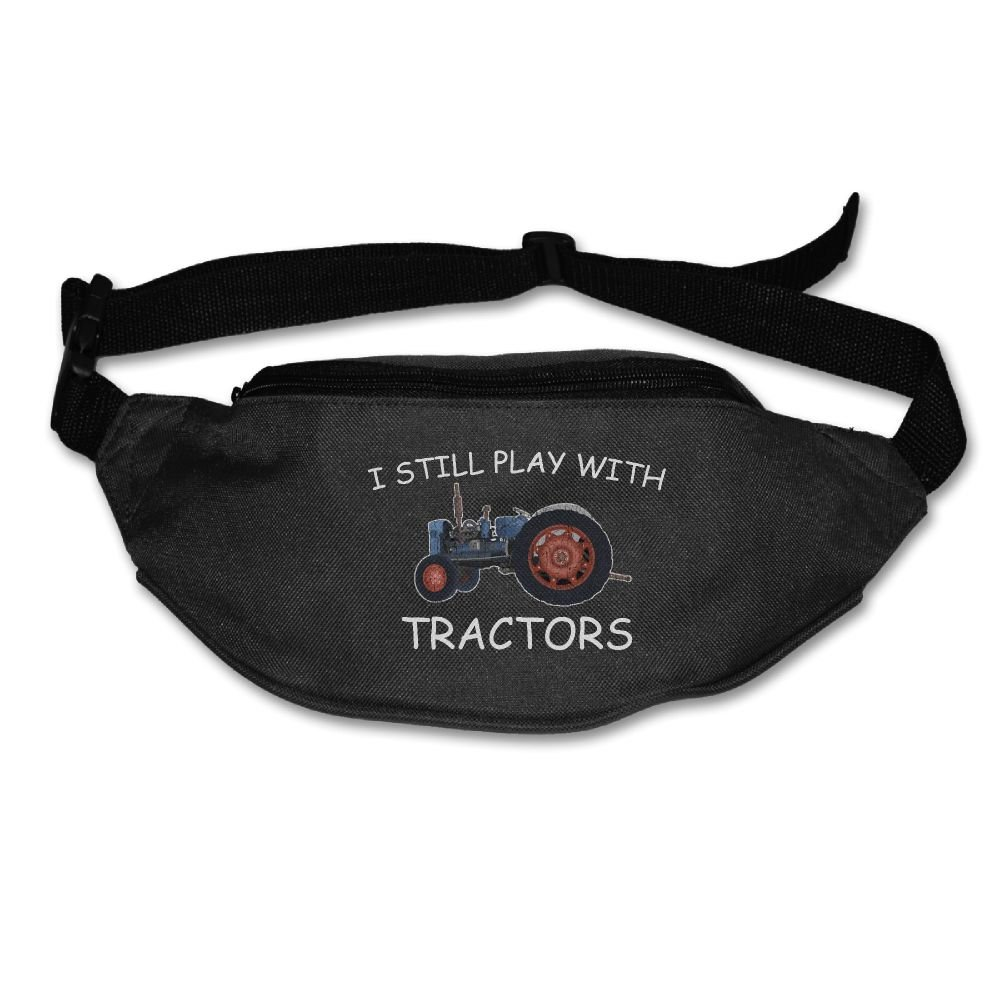 Ada Kitto Still Plays With Tractors Mens&Womens Sport Style Waist Pack For Running And Cycling Black One Size