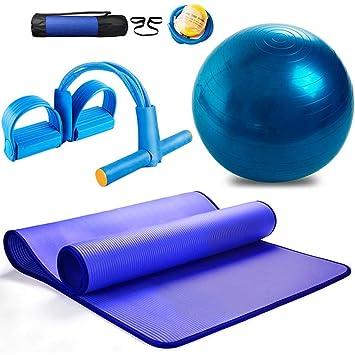 Zebratown azul cacahuete pelota de Yoga Fitness equilibrio pelota ...