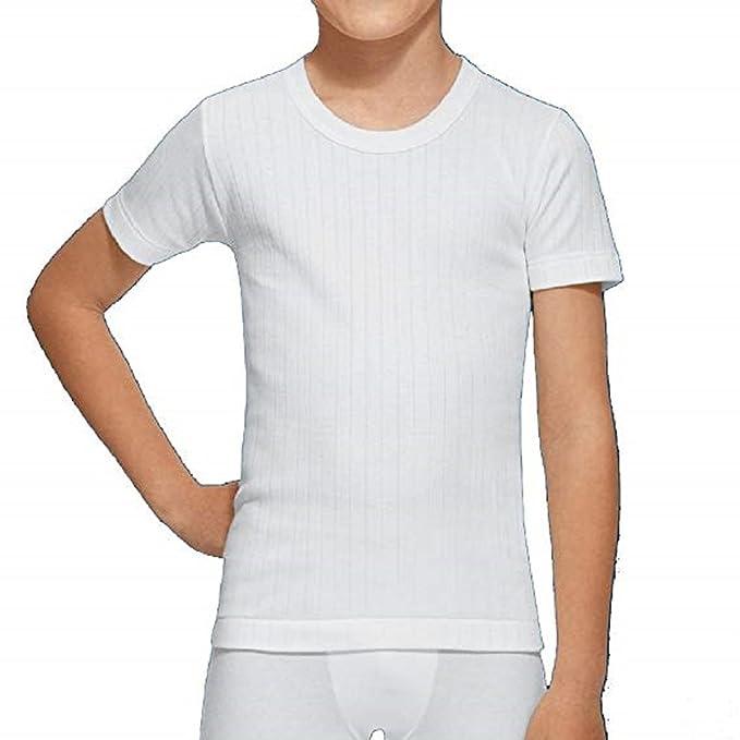 9a556783ebd03 Abanderado 202 - Camiseta Interior termica de Niño  Amazon.es  Ropa ...