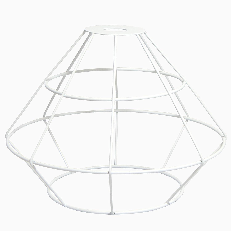 Just Contempo Pyramide Geometrische Licht Anhänger Schatten, Weiß ...