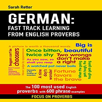 Amazon com: German: Fast Track Learning from English