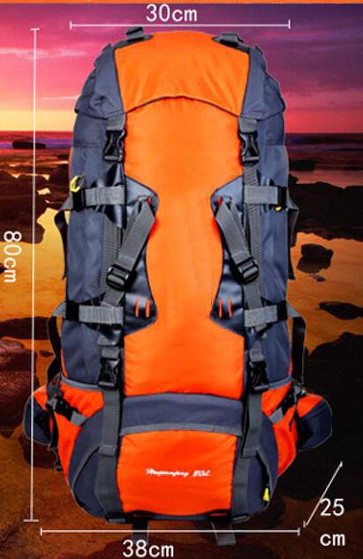 JSHFD Bergsporttasche, Outdoor-Tasche Outdoor-Tasche Outdoor-Tasche Large-Capacity Reiserucksack Wild Wandern Männer und Frauen Rucksack 80L B07GGYB8R7 Trekkingruckscke Modebewegung 554462