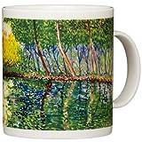 Claude Monet - The Pond at Montgeron - 14oz Coffee Mug